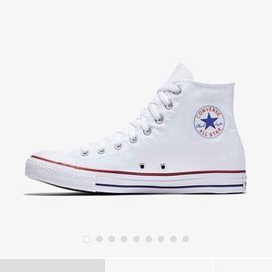 High top white Converse